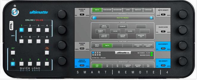 Ultimatte Smart Remote4画像